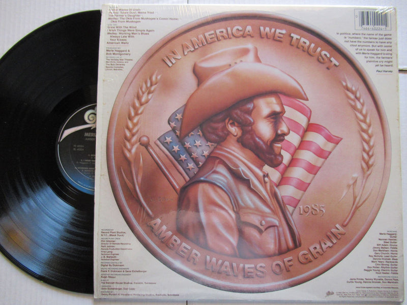 Merle Haggard | Amber Waves Of Grain (USA VG)