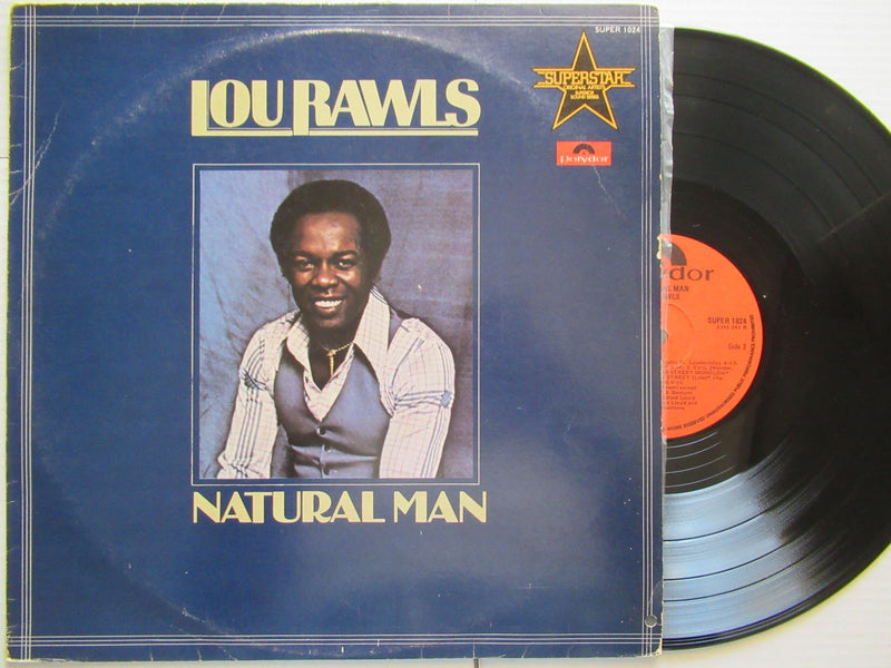 Lou Rawls | Natural Man (RSA VG+)