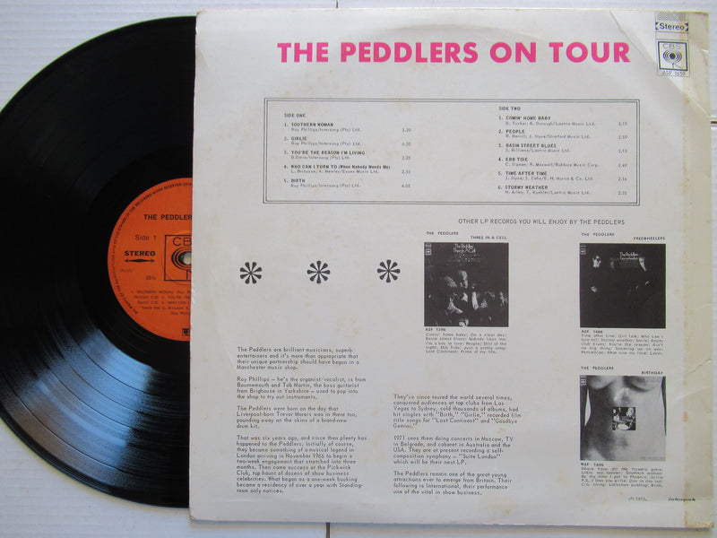 The Peddlers | On Tour (RSA VG+)