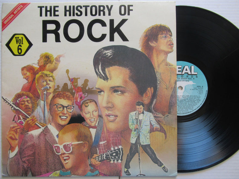 Various Artists | The History Of Rock Vol.6 (RSA VG+)