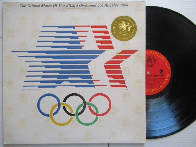 The Official Music Of The XXIIIrd Olympiad Los Angeles 1984 (USA VG+)