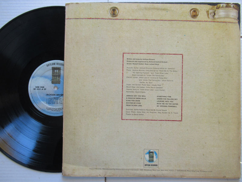 Jackson Browne | Saturate Before Using (USA VG)