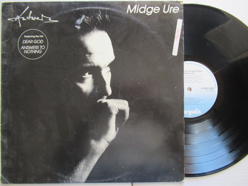 Midge Ure | Answers To Nothing (RSA VG+