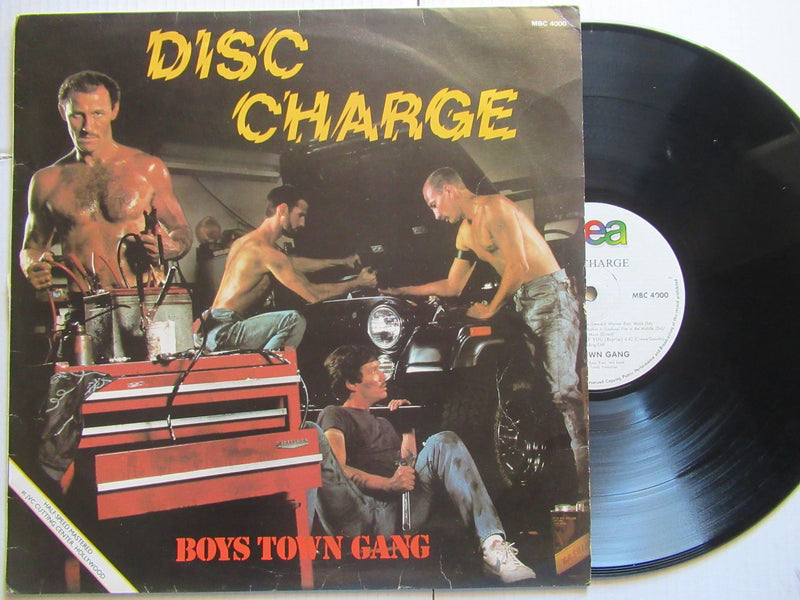 Boys Town Gang | Disc Charge (RSA VG)