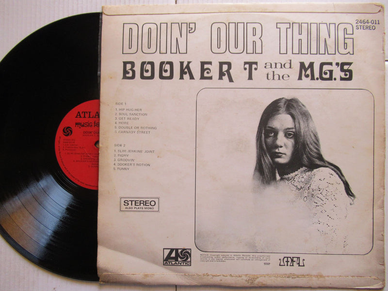 Booker T & The M.Gs | Doin' Our Thing (RSA VG)