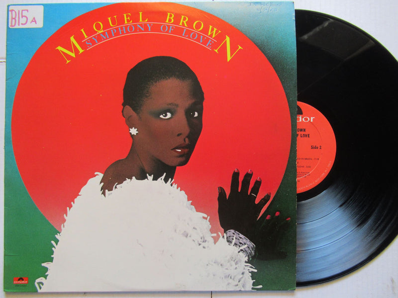 Miquel Brown | Symphony Of Love (USA VG+)