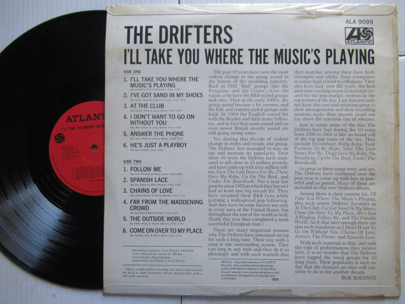 The Drifters | I'll Take You Where The Music's Playing (RSA VG+)