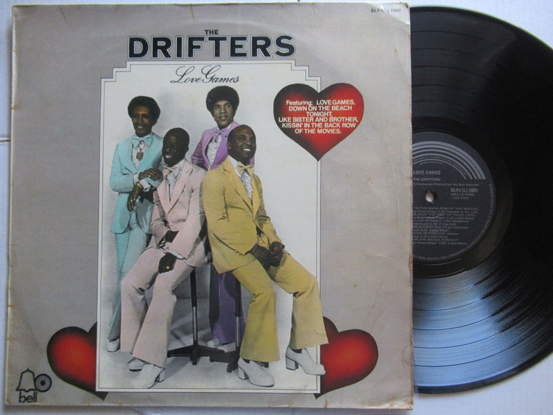 The Drifters | Love Games (RSA VG)