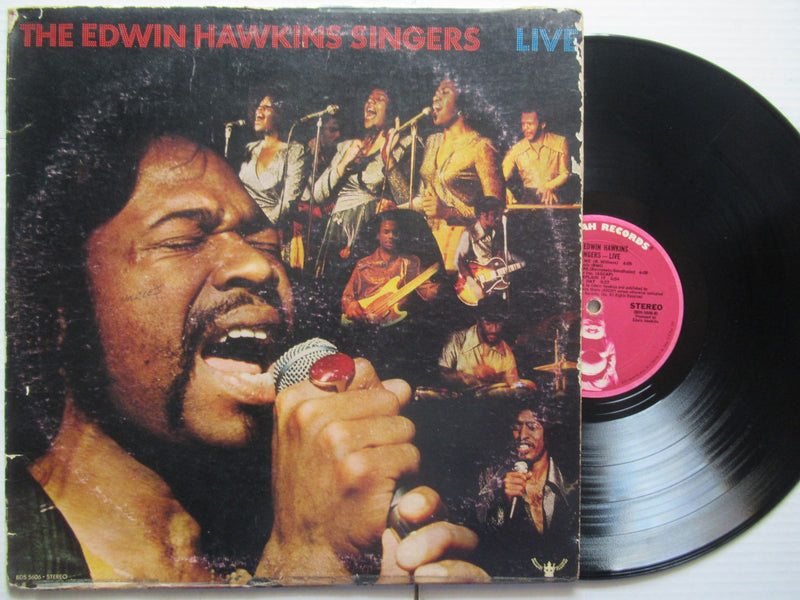 The Edwin Hawkins Singers | Live (USA VG-)