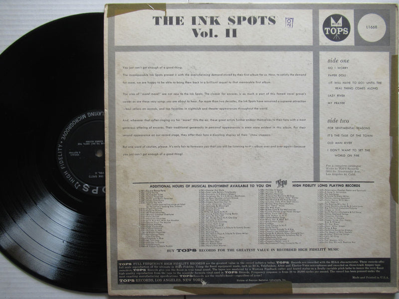 The Ink Spots | Vol.2 (USA VG-)