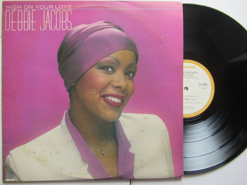 Debbie Jacobs | High On Your Love (RSA VG+)