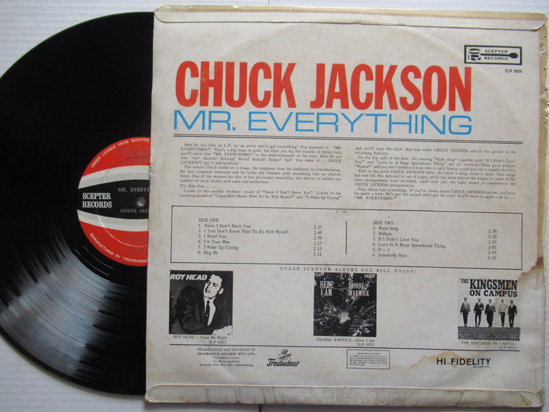 Chuck Jackson | Mr Everything (RSA VG)