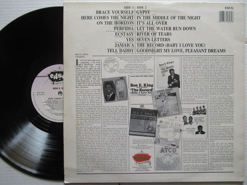 Ben E King | Here Comes The Night (UK VG)