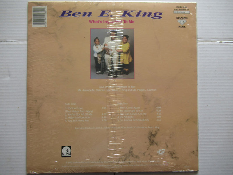 Ben E Kings | What's Important To Me (RSA Sealed)