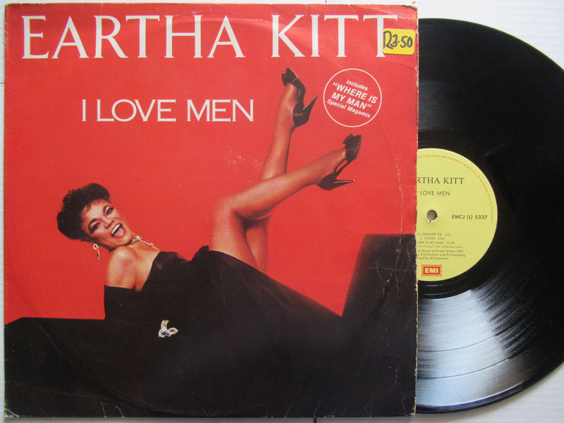 Eartha Kitt | I Love Men (RSA VG)