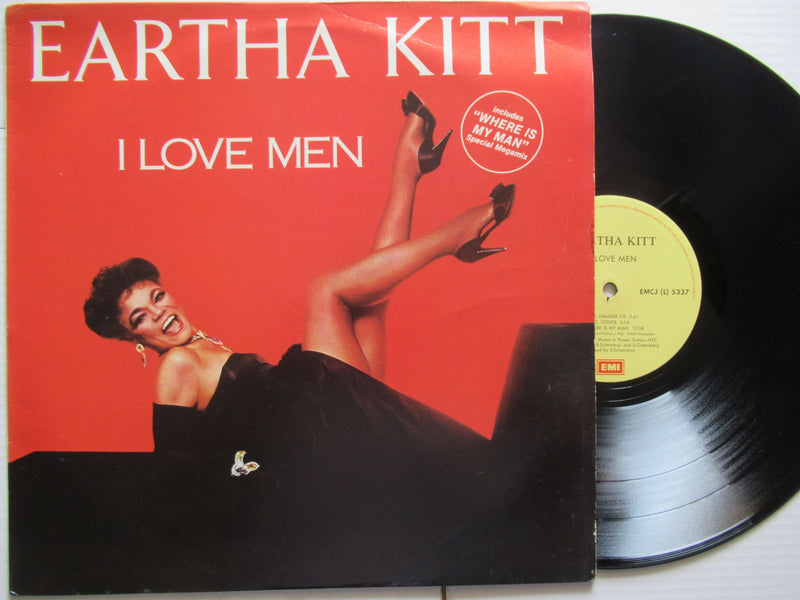 Eartha Kitt | I Love Men (RSA VG+)