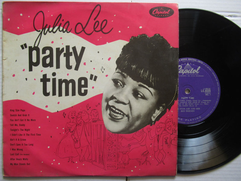 "Julia Lee | Party Time (UK VG 10"")"