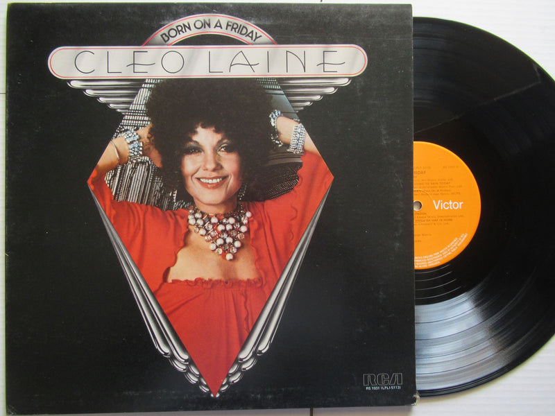 Cleo Laine | Born On A Friday (UK VG+)
