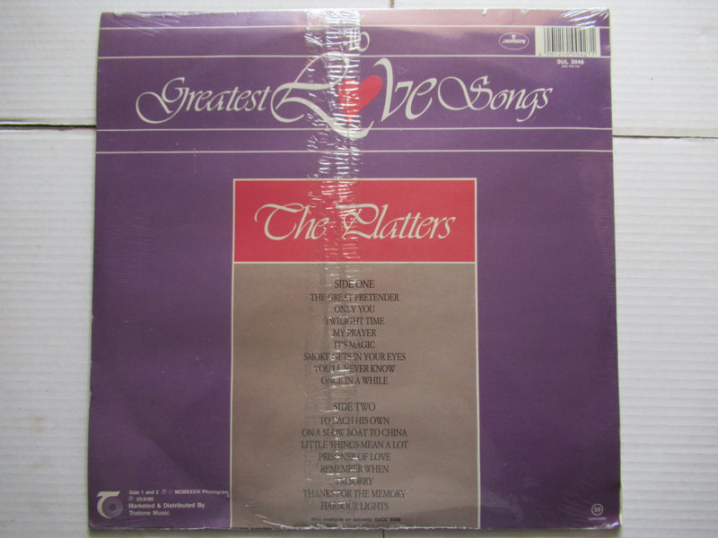 The Platters | 16 Greatest Love Songs (RSA Sealed)