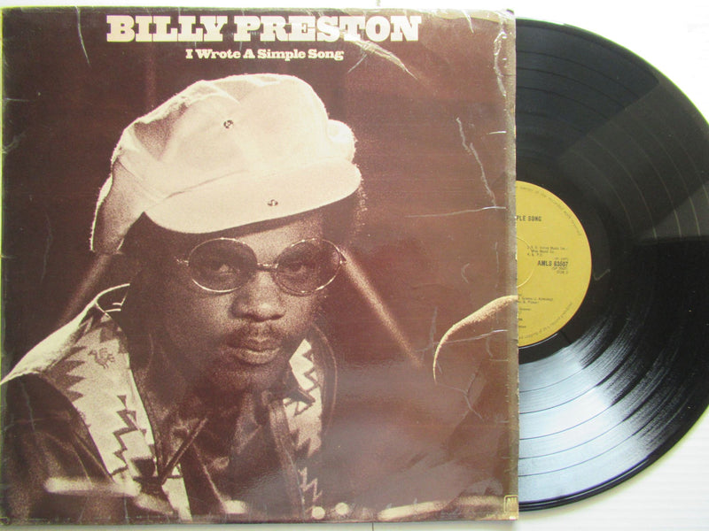 Billy Preston | I Wrote A Simple Song (RSA VG)