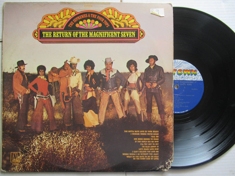 The Supremes & Four Tops | The Return Of The Magnificent Seven USA VG- / VG