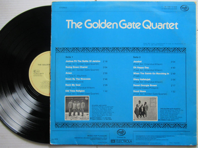 The Golden Gate Quartet |The Golden Gate Quartet Germany VG / VG