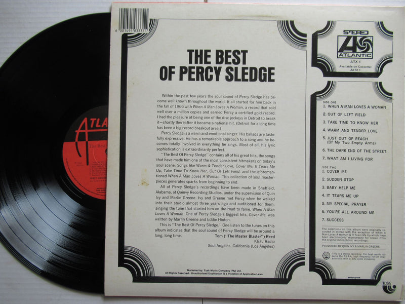Percy Sledge | The Best Of  RSA VG+ / VG+