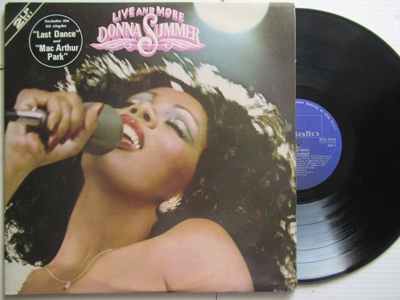 Donna Summer | Live And More | RSA VG+ 2 LP Gatefold