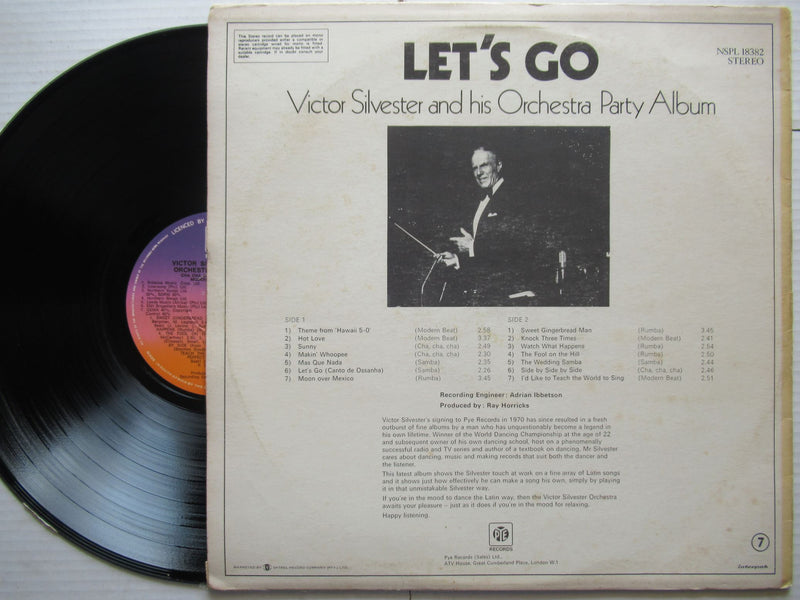 Victor Silvester And His Orchestra party Album | Let's Go | RSA | VG