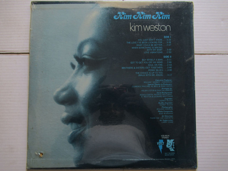 Kim Weston | Kim Kim Kim (USA Sealed)