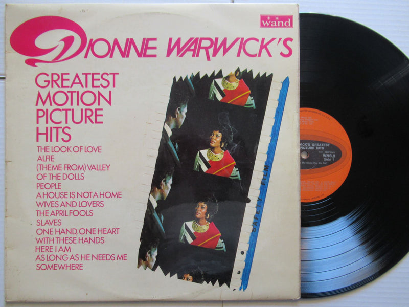 Dionne Warwick's | Greatest Motion Picture Hits | UK VG