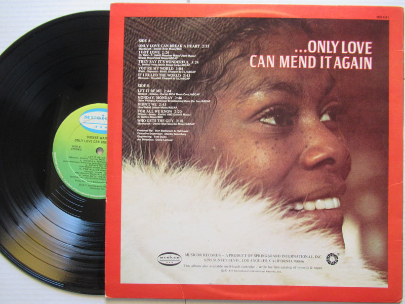 Dionne Warwick | Only Love Can Break A Heart | USA | VG+