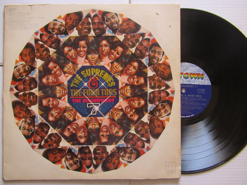 The Supremes & The Four Tops | The Magnificent 7 | USA | VG+ Gatefold