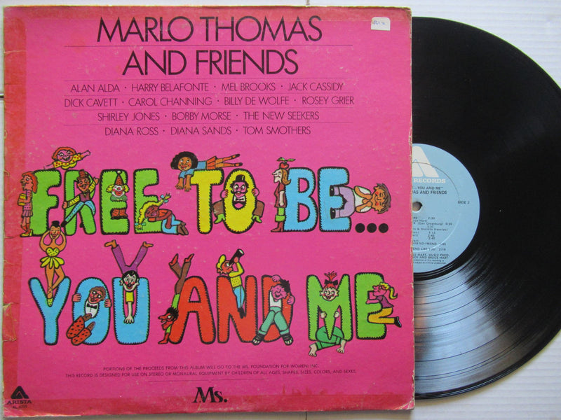 Marlo Thomas And Friends | Free To Be You And Me | USA | VG