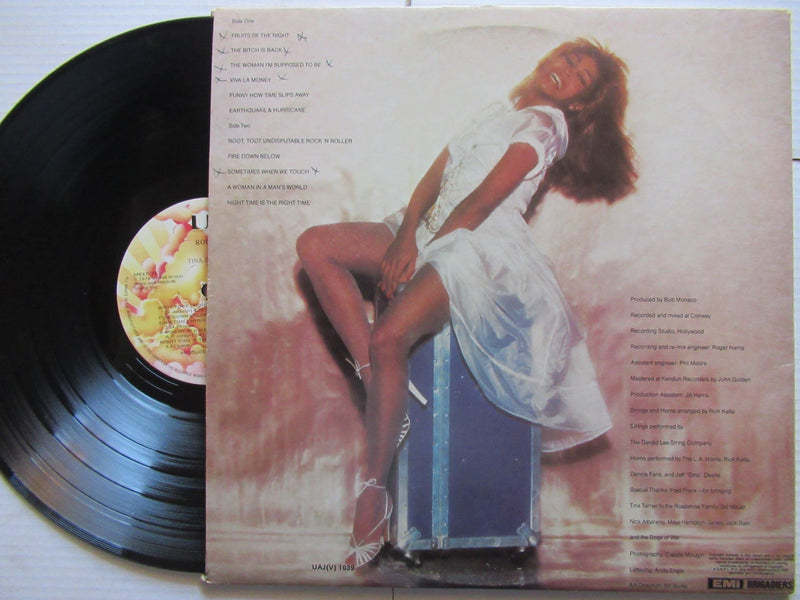 Tina Turner | Rough | RSA | VG+ Gatefold