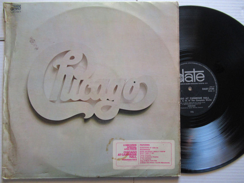 Chicago | At Carnegie Hall | RSA | VG+ 2 LP Gatefold