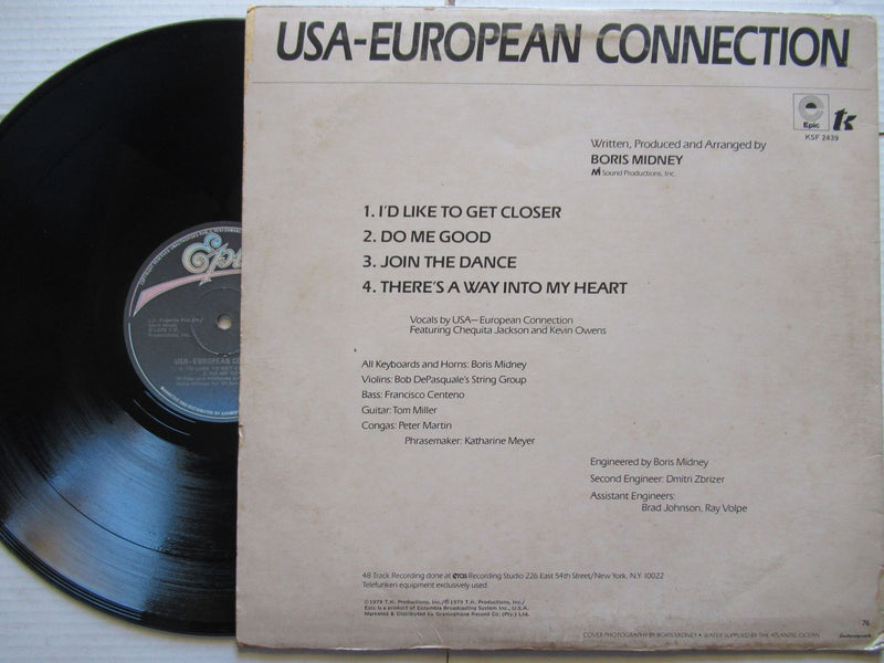 USA European Connection | USA European Connection | RSA | VG+