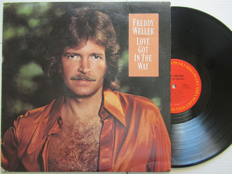 Freddy Weller | Love Got In The Way | USA | VG+