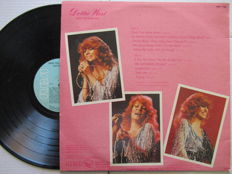 Dottie West | Once You Were Mine | RSA | VG+