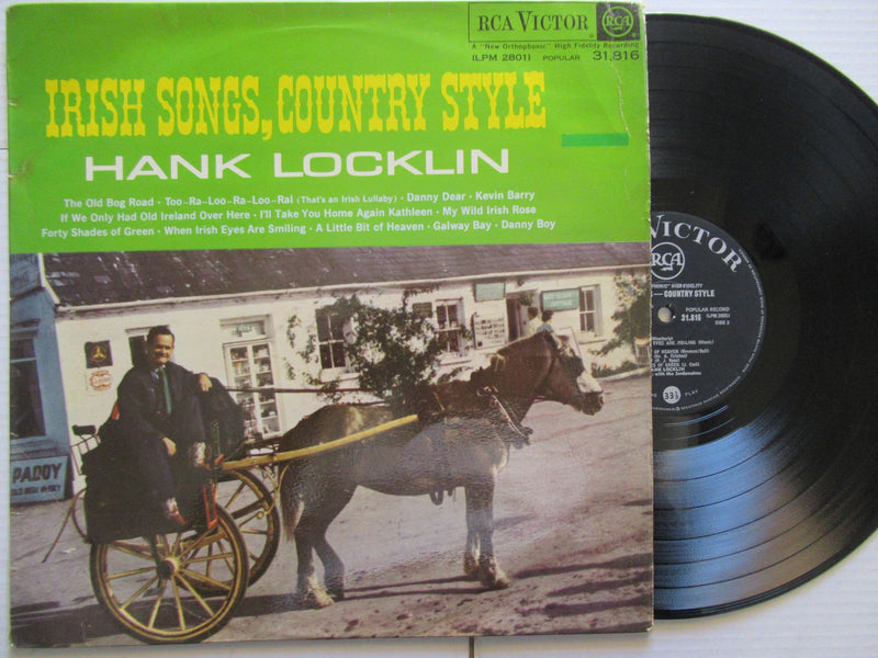 Hank Locklin | Irish Songs Country Style | RSA | VG