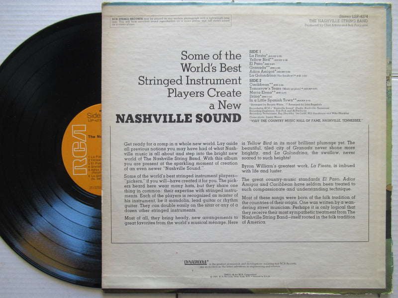 The Nashville String Band | The Nashville String Band | USA | VG+