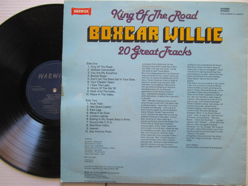 Boxcar Willie | King Of The Road | UK | VG