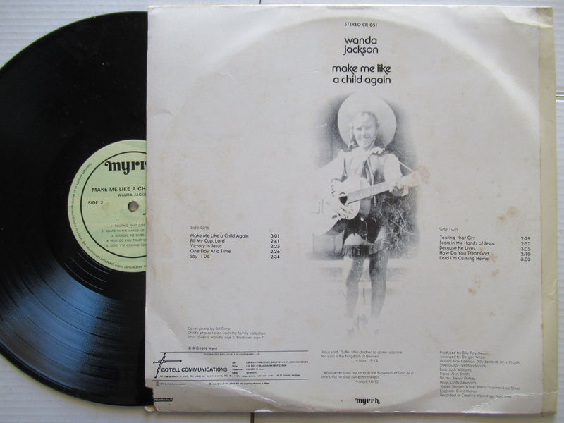 Wanda Jackson | Make Me Like A Child Again | RSA | VG