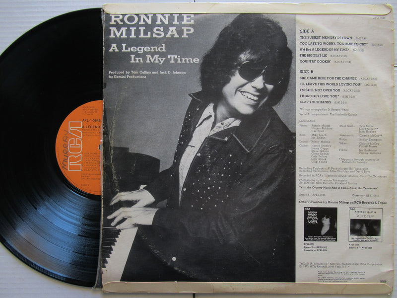 Ronnie Milsap | A Legend In My Time | RSA | VG
