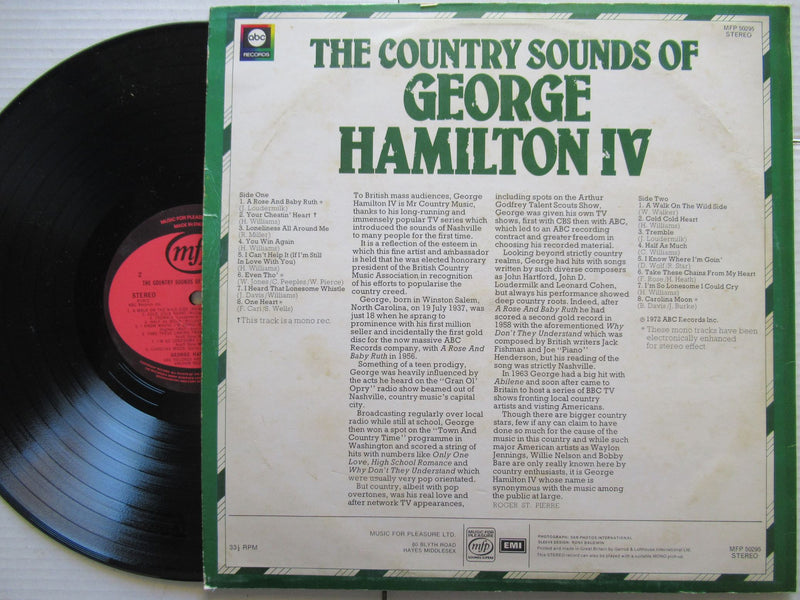 George Hamilton Iv | The Country Sound Of | UK | VG+