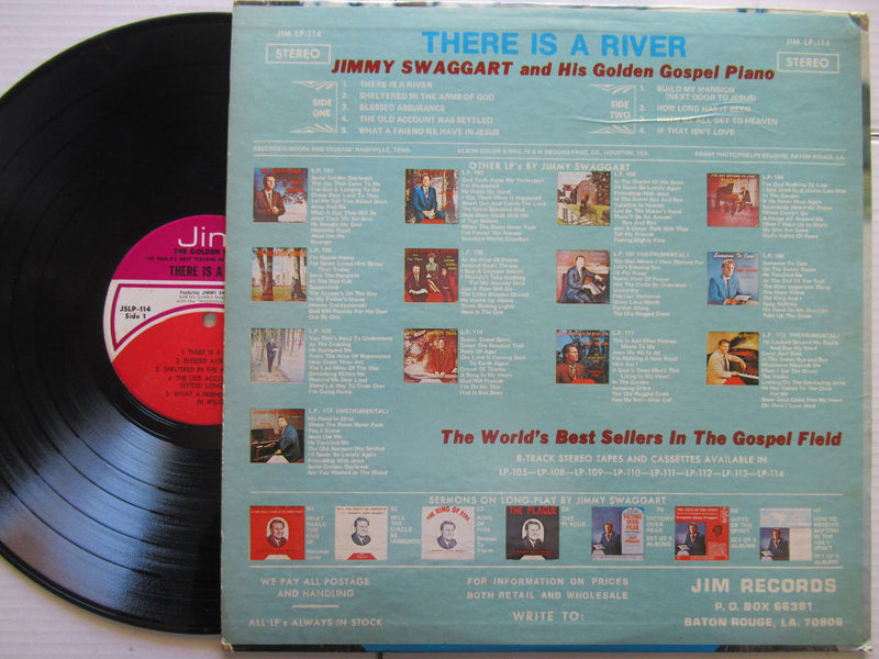 Jimmy Swaggat | There Is A River | USA | VG
