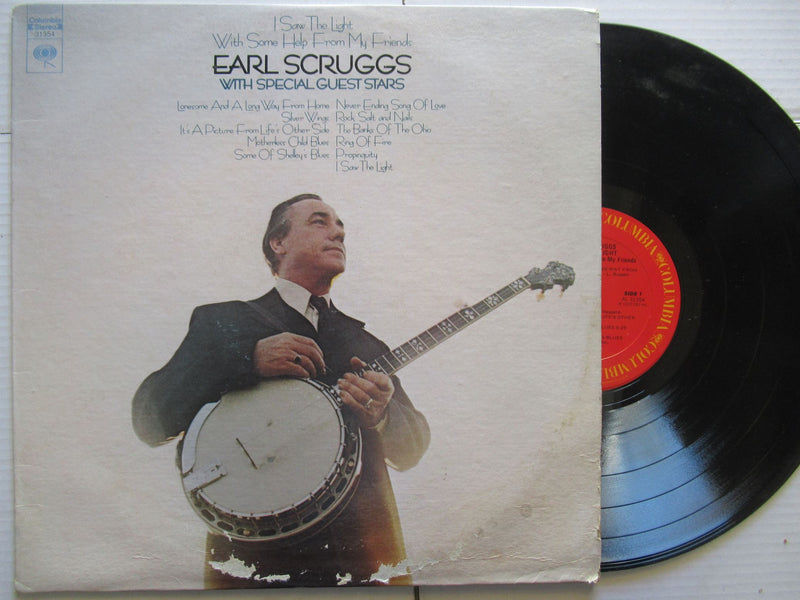 Earl Scruggs | I Saw The Light With Some Help From My Friends | USA | VG