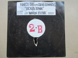 Narco Dog Featuring Steve Edwards | Locked Down ( UK VG+ )