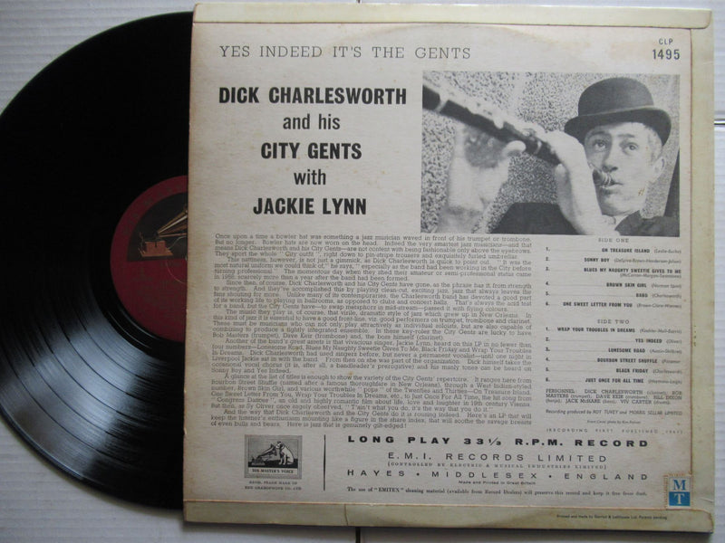 Dick Charleswarth And His Gents | Yes Indeed It's The Gents | UK | VG+