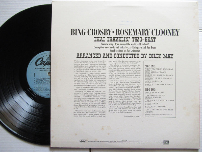 Bing Crosby Rosemary Clooney | That Travelin' Two Beat | USA | VG+